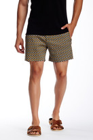 Parke & Ronen Medallion Printed Holler Short