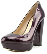 G by Guess Padey 3 Women Open Toe Synthetic Burgundy Platform Heel.