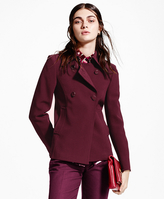 Brooks Brothers Double-Breasted Dobby Jacket