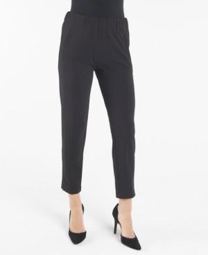 Nanette Lepore Slim Pull On Ankle Pant with Welt Pockets
