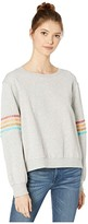 Rip Curl Ride Out Crew (Light Grey Heather) Women's Clothing