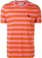 Burberry striped short sleeve T-shirt - men - Cotton - M