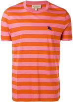 Burberry striped short sleeve T-shirt