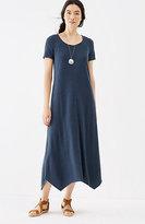 J. Jill Pure Jill Tencel®-Soft Knit Dipped-Hem Dress