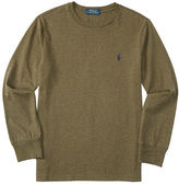 Ralph Lauren Cotton Long-Sleeve Tee