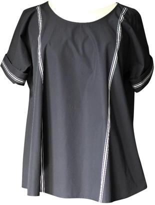 Lemaire X Uniqlo Black Cotton Top for Women