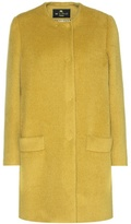 Etro Alpaca And Wool Coat