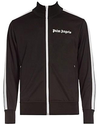 Palm Angels Hooded Side-Stripe Track Jacket