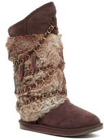 Australia Luxe Collective Atilla Tall Genuine Shearling and Genuine Rabbit Fur Boot