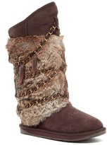 Australia Luxe Collective Atilla Tall Genuine Sheepskin and Genuine Rabbit Fur Boot