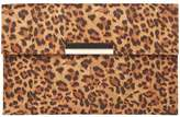 Dorothy Perkins Leopard Faux Suede Clutch