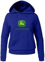 John Deere For Ladies Womens Hoodies Sweatshirts Pullover Tops