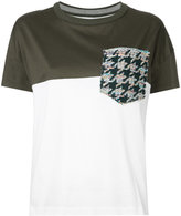 Coohem tweed pocket T-shirt
