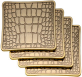 L'OBJET Crocodile Coasters - Set of 4