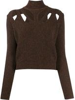 Fendi cut-out detail jumper