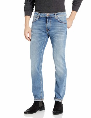 Nudie Jeans Unisex-Adult's Thin Finn Lost Orange 32/30