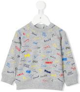 Stella McCartney Billy sweatshirt - kids - Cotton - 12 mth