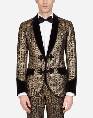 Dolce & Gabbana Tuxedo Jacket With Velvet Details