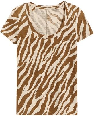 Banana Republic Slub Cotton-Modal Scoop-Neck T-Shirt