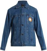 Craig Green Circle cut-out denim jacket