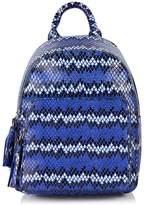 Skinnydip **mini blue snake backpack
