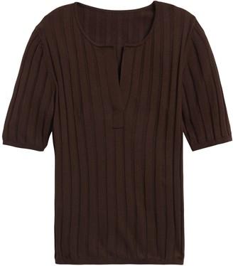 Banana Republic Petite Silk Cashmere Sweater Top
