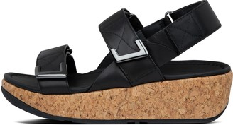 FitFlop Remi Adjustable Leather Sandals