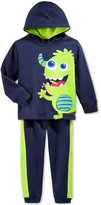 Nannette Baby Boys' 2-Pc. Monster Hoodie & Pants Set