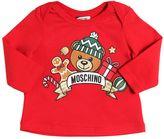 Moschino Holiday Printed Cotton Jersey T-Shirt