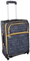 "Lotta Jansdotter 21"" Spinner Carry On Luggage - Anni Grey"