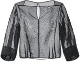 TOMORROWLAND balloon sleeve sheer blouse