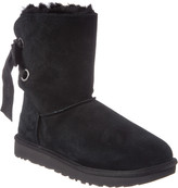 UGG Women's Customizable Bailey Bow Short Suede Boot