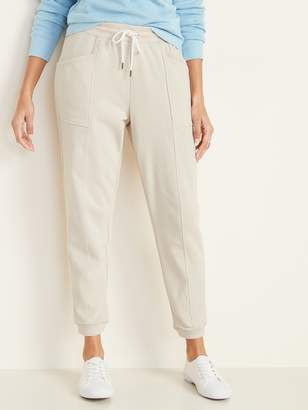 Old Navy Mid-Rise French-Terry Utility Street Joggers for Women