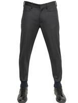 Neil Barrett Stretch Wool Flannel Trousers