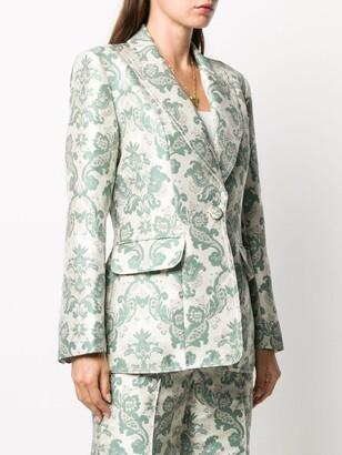 Zimmermann Ladybeetle brocade tuxedo jacket
