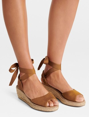 Forever New Demi Low Espadrille Wedges - Tan - 36