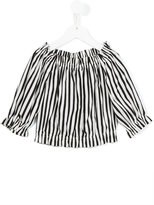 Dolce & Gabbana striped blouse - kids - Cotton/Spandex/Elastane - 2 yrs