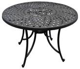 Crosley Aluminum Patio Dining Table - Black