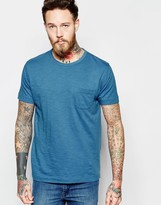 YMC T-Shirt With Pocket In Blue