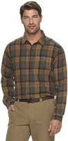 Columbia Men's Notched Peak Classic-Fit Plaid Button-Down Flannel Shirt