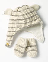 Boden Cosy Hat & Mittens Set