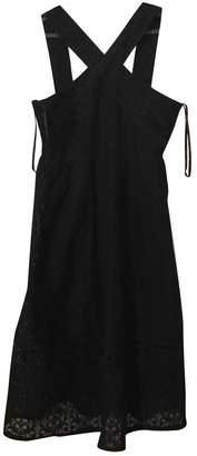 J.o.a. Black Cotton - elasthane Dress for Women