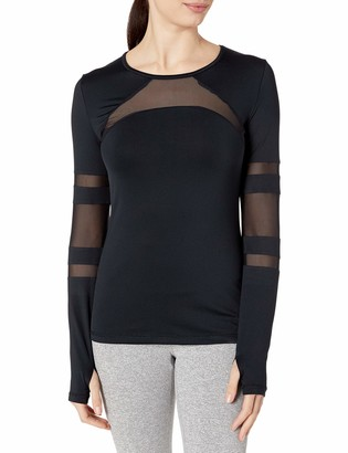 Shape Fx Women's CAGE MESH Long Sleeve TEE