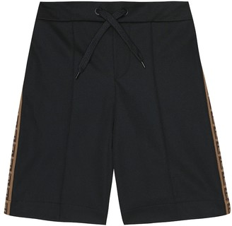 Fendi Kids Logo shorts