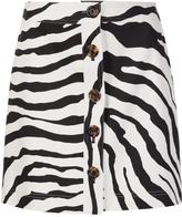 ADAM by Adam Lippes Zebra Print Skirt