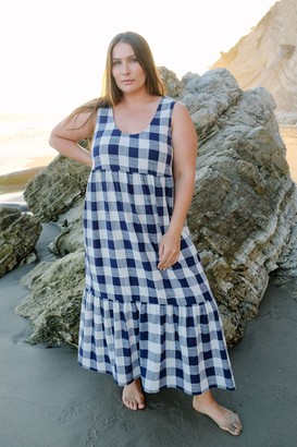 White Label Picnic Plaid Bri Dress - Plus Size