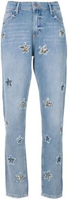 Zoe Karssen embellished stars jeans