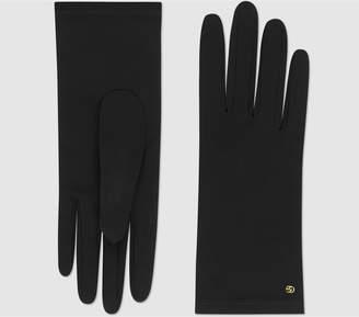 Gucci Viscose cady gloves