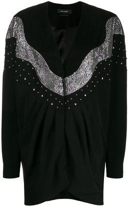Isabel Marant sequin-embellished mini dress
