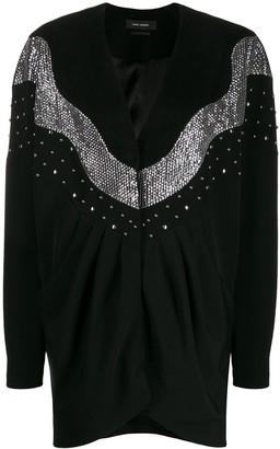 Isabel Marant Sequin-Embellished Mini Dress